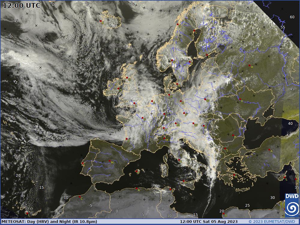 wetter satellit europa